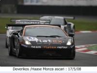 Deverikos /Haase Monza ascari: 17/5/08