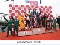 podium Monza 17/5/08