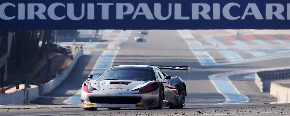 Glorax, Paul Ricard testing, 15/3/2015