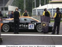 Deverikos at start line in Monza: 17/5/08