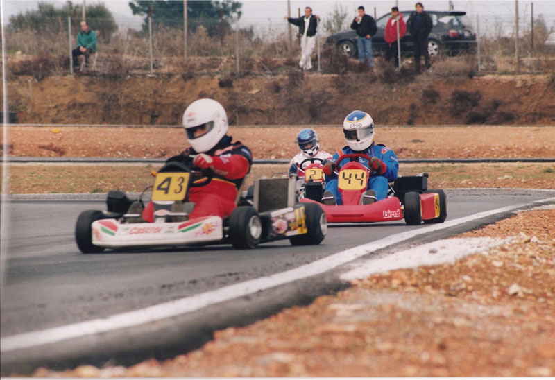 Kart Greece Year 1992, D. Deverikos
