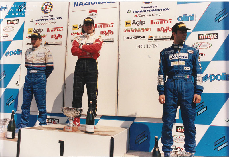Mugello Formula 3, Year 1996, Dimitris Deverikos
