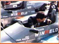 WINFIELD. He took the 20th place among 80 students in the circuit of Paul Richard in South France.
